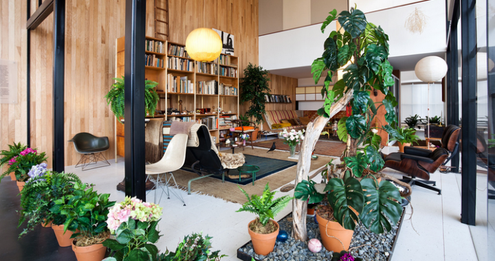 Eames Interior Design the eames house: a true blend of art, architecture and decor