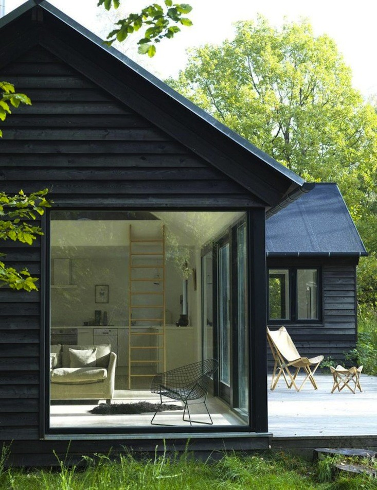 Black-stain-summer-house-Sweden-Remodelista