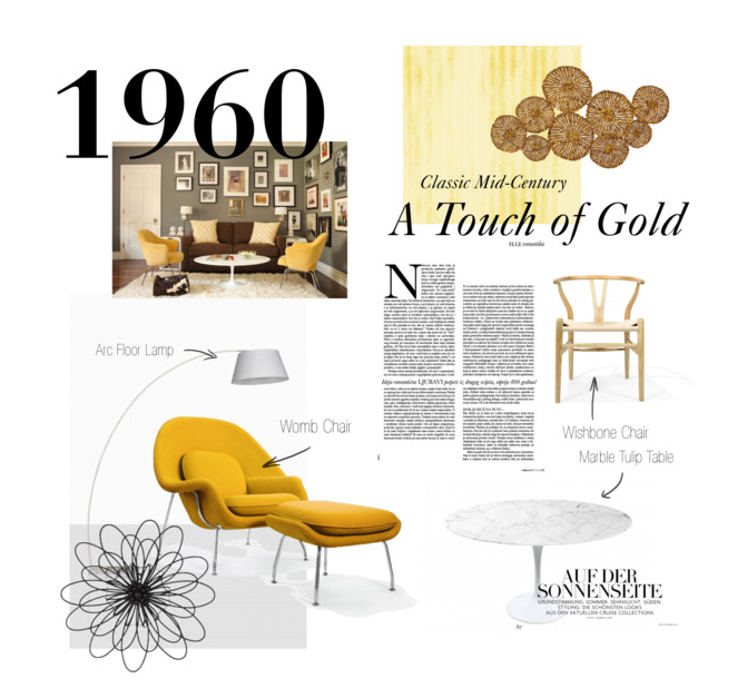 Polyvore Gold set
