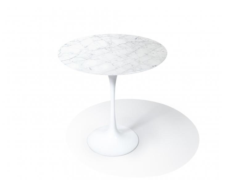 Tulip Table_Side_Carrara1