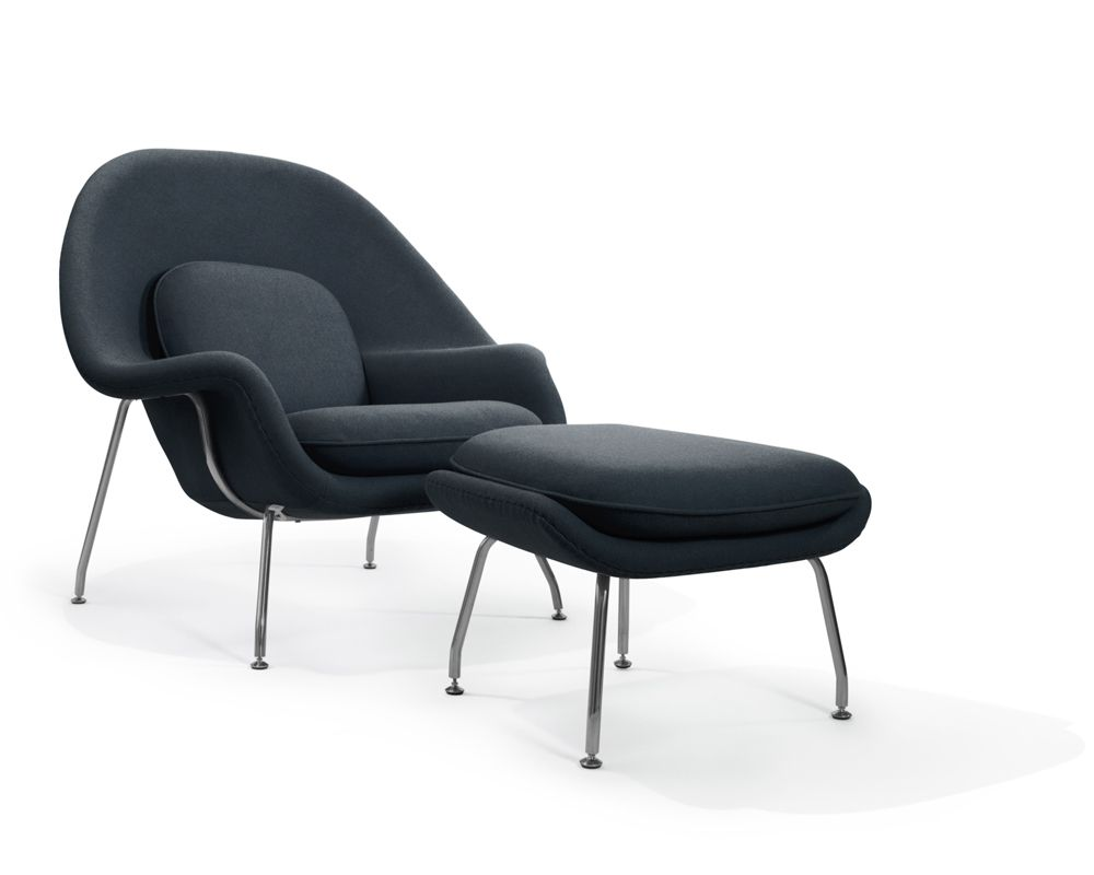 Womb_Chair_Ottoman_CW_DarkGranite