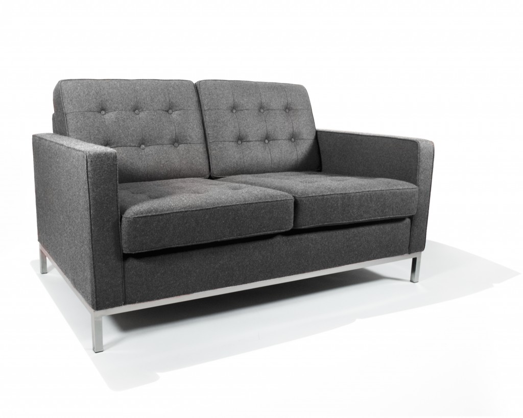 Knoll_Loveseat_Boucle_Fossil