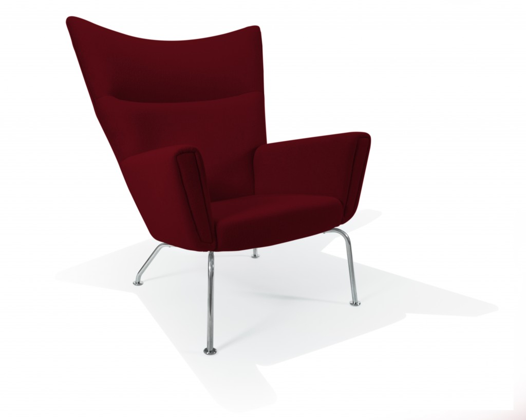Wing_Chair_BOUCLE_Cardinal